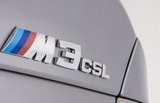 Eladósorba került egy igen ritka BMW M3 CSL