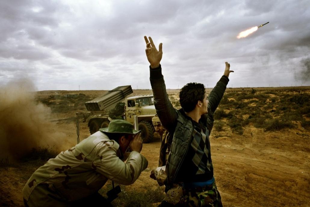 Sajtófotó 2011 - Nagyítás-fotógaléria - Képriport - sorozat - 1. helyezett: Libya