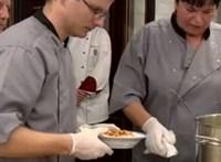 Feladták a leckét a szakácsversenyen: három fogás 350 forintból