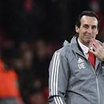 Kirakta az Arsenal Unai Emeryt