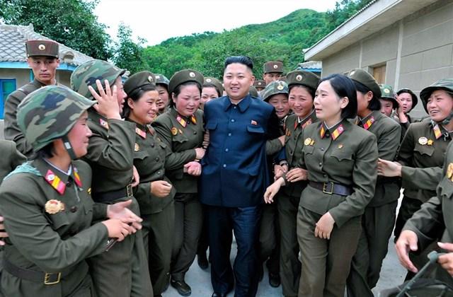 Kim Dzsong Un szupersztár
