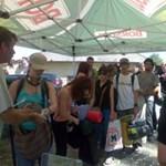 Főiskolások és egyetemisták a Hegyalja fesztiválon