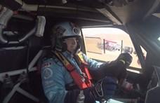 Borzalmas napon van túl a magyar Dakar-páros