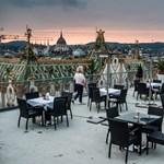 A legtrendibb helyek Budapest tetején