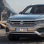 Igazi nehézsúlyú dízellel üzen a Volkswagen, itt a 421 lóerős V8-as Touareg