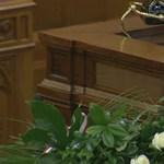 Göncz Árpádra emlékeztek a Parlamentben