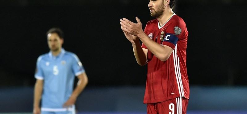 Magyarország 3-0-ra nyert San Marino ellen