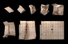 Előkapták a fogászati röntgent, úgy olvastak bele 17. századi, bontatlan levelekbe