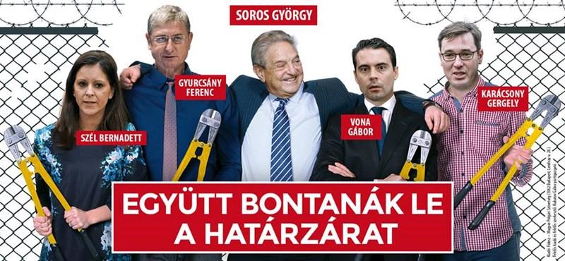 Fidesz: jönnek a Soros-plakátok és a Vonáról szóló telefonos kampány
