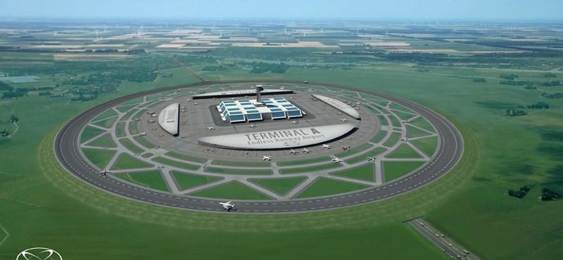 Lehetséges a kör alakú repülőtér?