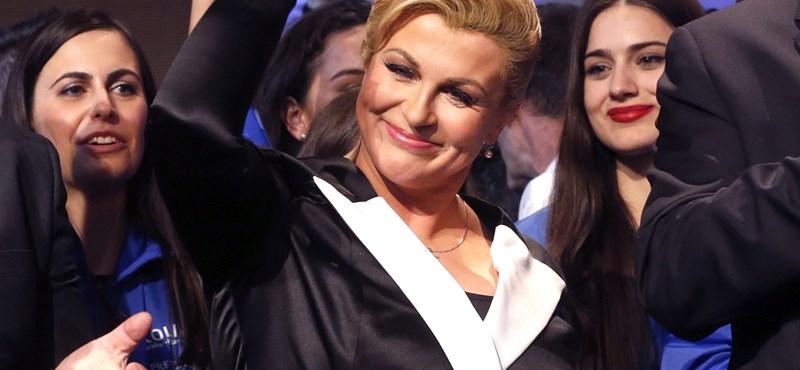Most először lesz női elnöke Horvátországnak