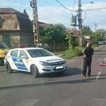 Motor és gépkocsi ütközött a XVII.kerületben