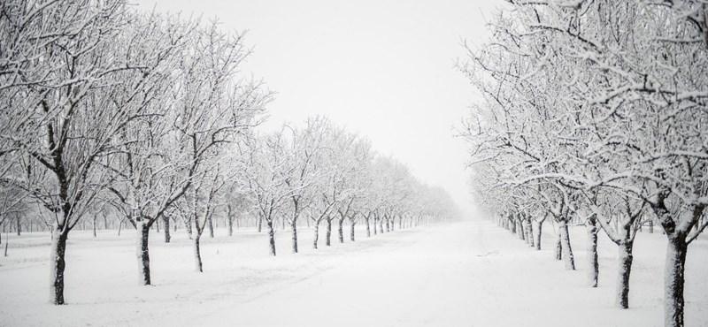 Itt van a tél, itt van újra - képek a hóról!