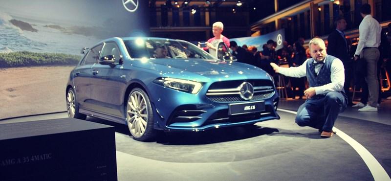 Még a premier előtt beülhettünk Kecskemét új 306 lóerős Mercedesébe