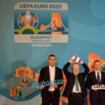 Ilyen lesz a budapesti foci-Eb-meccsek logója
