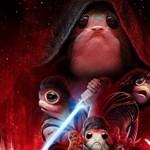 A főszereplő máris a Star Wars-plakát paródiáin kacag rajongóival