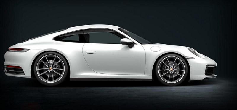 Fejlett összkerékhajtással támad az új Porsche 911 Carrera 4