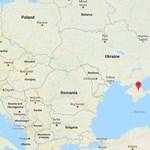 Hatvan kilométer hosszú kerítést építettek az oroszok a Krím félsziget határán