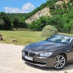 BMW 640i teszt: kiguvadt a rendőr szeme
