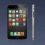 Nagy kijelzős iPhone 5, két oldalsó extra gombbal! [videó]