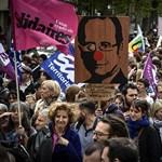 A szakszervezetek sakkban tartják Franciaországot, de a kormány nem hátrál