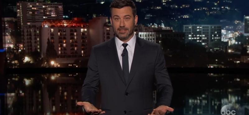 """""""Várnának, amíg a vihar elvonul"""" – Jimmy Kimmel keményen fogalmaz a fegyvertartásról"""