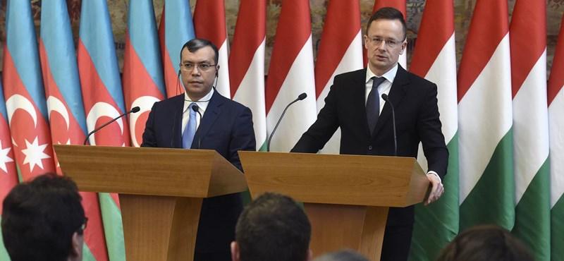 Szijjártó: Három év múlva már Azerbajdzsánból is jöhet gáz