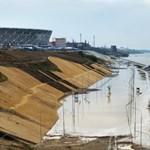 Alig ért véget a foci-vb, máris szétázott a volgográdi stadion
