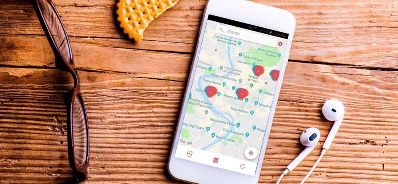 Ez az ingyenes applikáció jó választás, ha Róma magyar emlékeire kíváncsi
