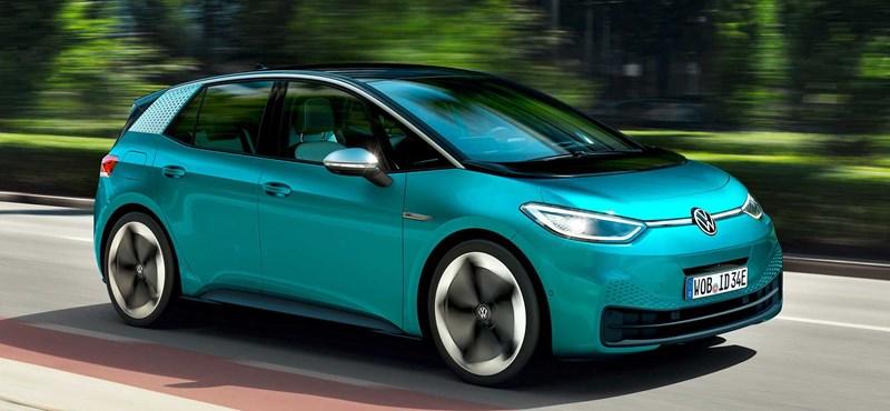 Bemutatták a Volkswagen ID.3-at, ami új korszakot nyit a német márkánál