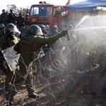 Újra könnygázt vetett be a koszovói szerbek ellen a KFOR