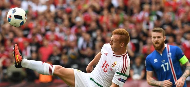 Breaking: Kleinheisler a meccs előtti belemegítésnél megsérült