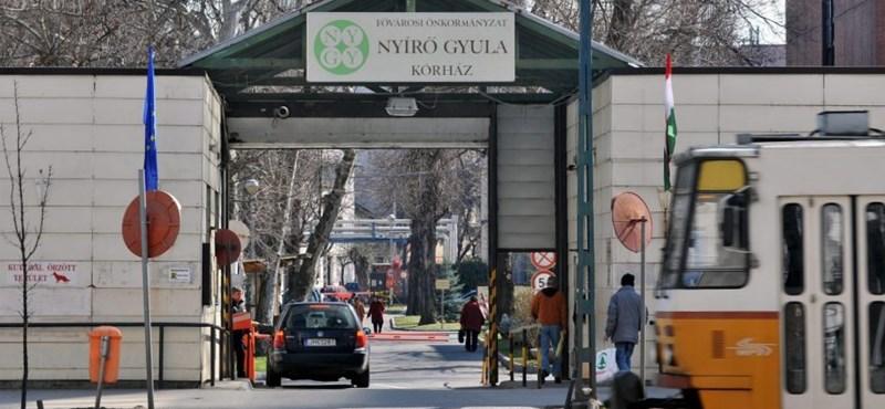 Nem fogad betegeket a Nyírő Gyula Kórház addiktológiai osztálya