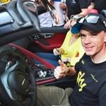 Chris Froome megnyerte a Tour de France-t, és történelmet írt
