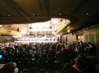 Nem volt teltház Orbán beszéde alatt a Zeneakadémián
