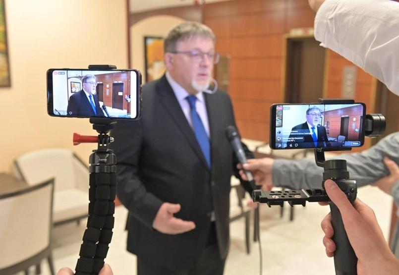 A fideszes Dézsi Csaba András nyerte a győri polgármester-választást - élő