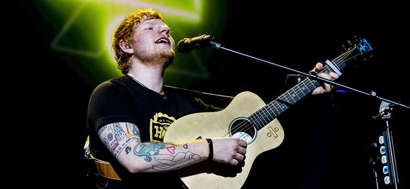 Ed Sheeran titokban összeházasodott gyerekkori iskolatársával
