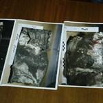 Fotók a Germanwings-gép megtépázott második fekete dobozáról