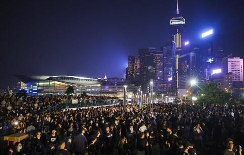 Tüntetések Hongkongban