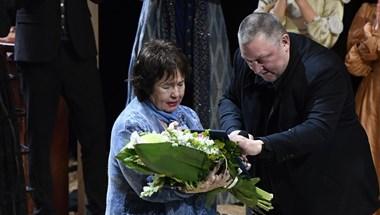 Lehoczky Zsuzsa megkapta a Nemzet Színésze címet