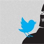 Semmit sem tett a Twitter az oldalán terjesztett gyűlöletbeszédek ellen, így azokat kifestették az irodája elé