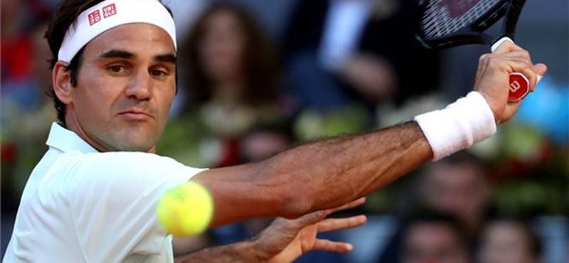 Greta Thunbergnek magyarázkodott Roger Federer