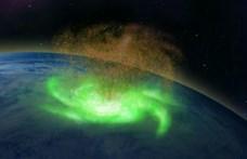 Hurrikán volt az űrben az Északi-sark fölött, soha nem láttak még ilyet