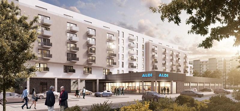 Az Aldi új projektje: 65 ezer forintért nyújt majd albérletet a berlinieknek