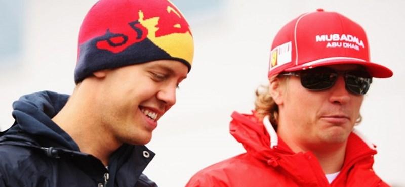 Räikkönen a Red Bull titkos jelöltje Webber helyére