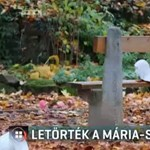 Agyatlan vandálok jártak az esztergomi kegyhelyen, lefejezték a Mária-szobrot