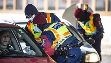 Eddig 455 eljárást indított a rendőrség a járvánnyal kapcsolatban