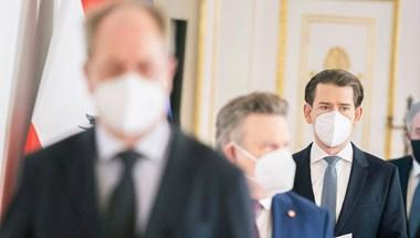 Meghosszabbítják a lezárást Ausztriában, kötelező az FFP2 maszk