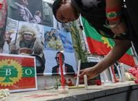 Több százan haltak meg egy tüntetésen Etiópiában