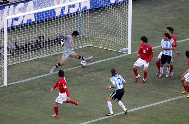 Foci-vb Argentína Dél-Korea
